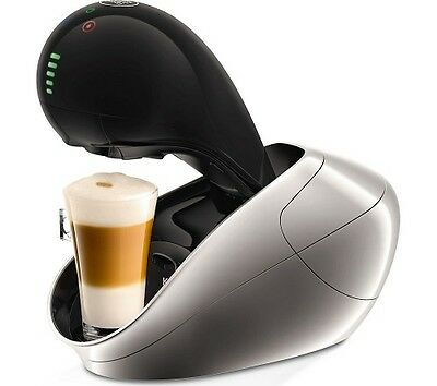 Dolce Gusto Movenza Automatic Coffee Machine By Krups - Silver - New In Box