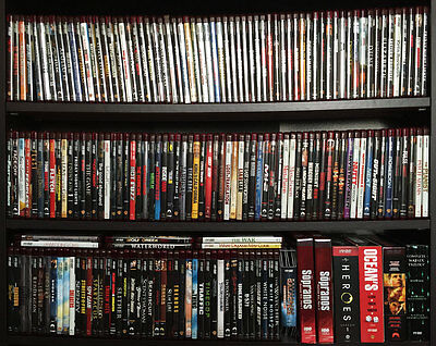 Large Lot of Nearly 200 HD DVD Movies