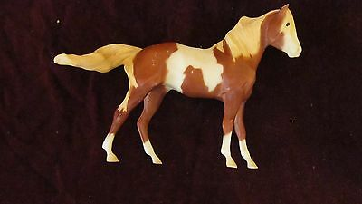 Vintage Breyer Horse Toy White and Brown Collectible