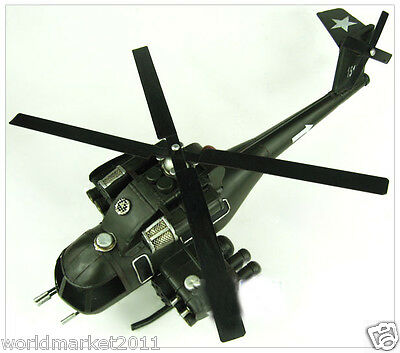 1986 Cobra Helicopter Decoration Window Furnishings Army Green Aircraft Model