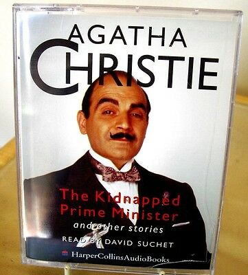 Agatha Christie - The Kidnapped Prime Minister Etc -  2 Cassettes Audio Book