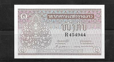 LAOS #8a 1962 UNC MINT OLD VINTAGE KIP BANKNOTE PAPER MONEY CURRENCY BILL NOTE