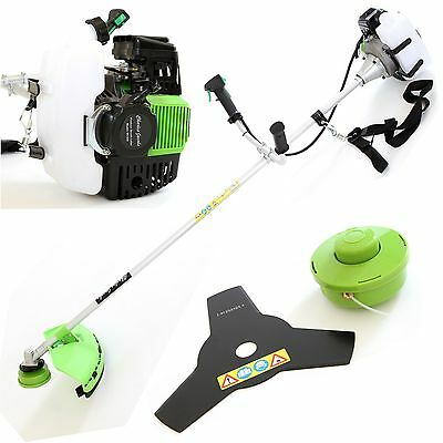REBOXED 52CC Petrol Garden Grass Strimmer Multi B-Cutter in Green Charles Jacobs