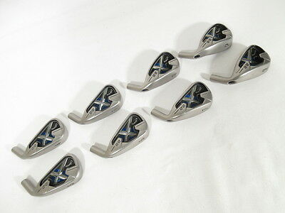 Tour Issue! CALLAWAY X-22 Raw Finish IRONS (3-PW) IRON SET -Heads Only-