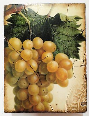 Sid Dickens Memory Tile, T-110 Grapes - NEW - RETIRED (103)