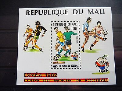 £££ MALI bloc timbre stamps MNH** Football soccer  Espagne 1982