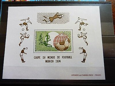£££ Niger bloc timbre stamps MNH** football soccer World cup