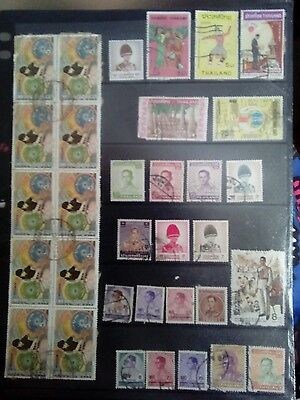Stamps Used Mm Thailand