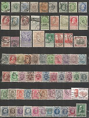 BELGIUM from 1869 year, nice COLLECTION,   used stamps