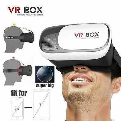 Universal 3D Virtual Reality VR BOX V2.0 Glasses Headset Goggles Android Apple