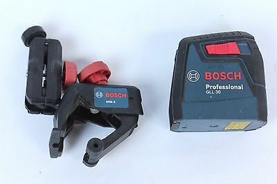 Bosch GLL 30  30 ft. Self-Leveling Cross-Line Laser with MM 2 Flexible Mounting