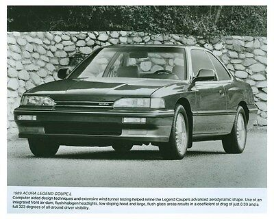 1989 Acura Legend Automobile Factory Photo ch5699