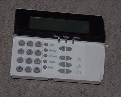 Used Dsc Lcd Alarm Security Keypad Lcd-5501Z No Cover