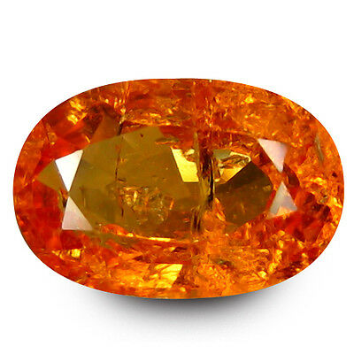 2.42 Ct Extra Ordinary Oval Cut (9 x 6) mm 100% Natural Fanta Orange Spessertite