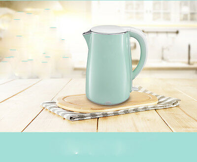 Green High-capacity Stainless Steel Capacity 1.7L Home Kitchen Electric Kettle