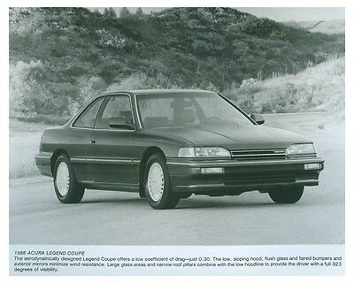 1988 Acura Legend Coupe Automobile Factory Photo ch5723