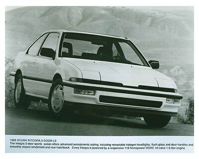 1989 Acura Integra 3 Door LS Automobile Factory Photo ch5705