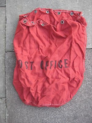 GPO POST OFFICE RED Vintage Post Office Royal Mail CANVAS BAG