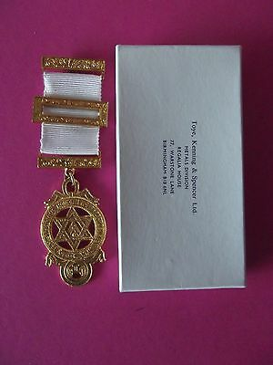 Masonic Jewel / Medal Royal Arch Chapter Jewel With Box