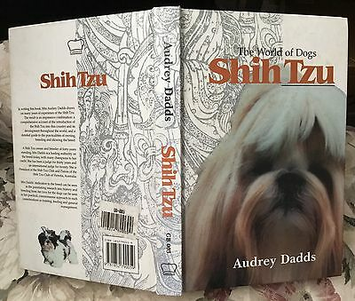 World of Dogs SHIH TZU dog book 1995 first edition Audrey Dadds
