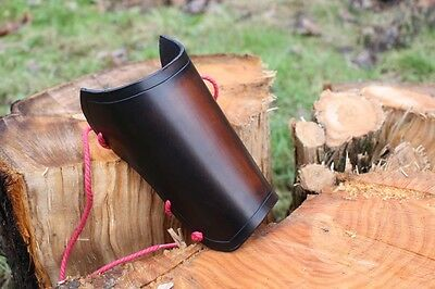 Hand Made Leather Archery Bracer Arm Guard