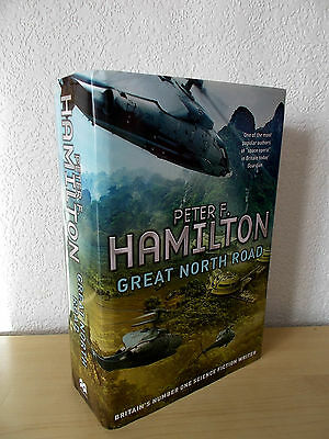 GREAT NORTH ROAD by PETER F HAMILTON - 1st EDITION HARDBACK *ONCE-READ*
