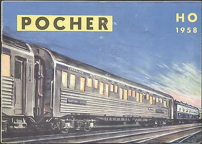 Catalogue POCHER Italie - 1958 - 20 pages