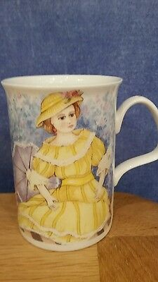 Fine Bone China Mug by Roy Kirkham.Treasured Dolls