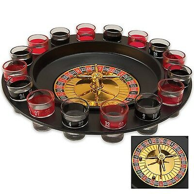 Maxam SPROULT 16-Shot Roulette Drinking Game Set