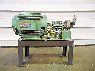 Mo-2100, Maag Pump Systems Textron 1407C2A1Cl Hydreco. 7.5 Hp. 3 Ph. 1155 Rpm.