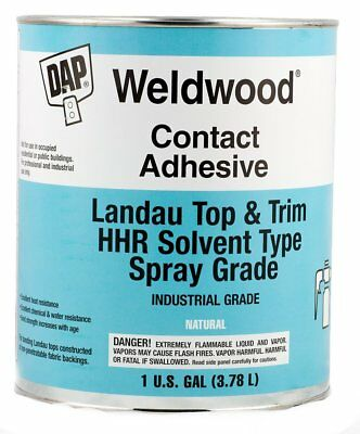 DAP 00233 Weldwood Contact Cement Landau Top & Trim HHR Solvent Type, 1 Gallon