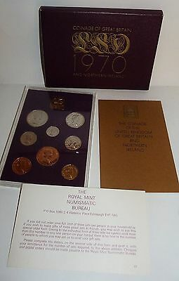 Royal Mint, Coinage Of Great Britain And Northern Ireland 1970