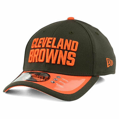 another chance 19fd1 672b8 Cleveland Browns New Era NFL Sideline 39THIRTY Cap Hat Lid Team Headwear  Mens OH