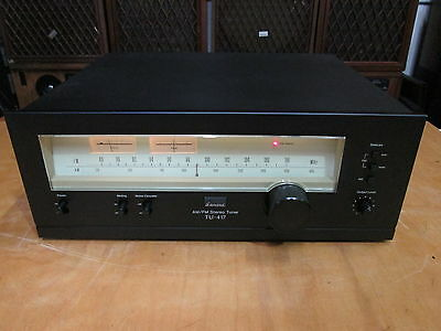 Sansui TU-417 Classic Vintage AM/FM Stereo Tuner Works Great