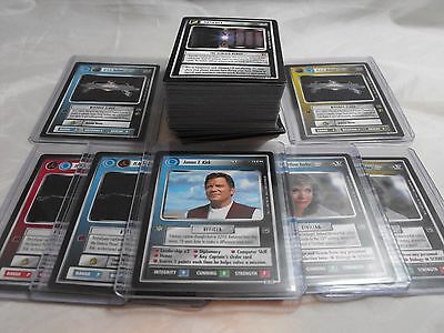 Star Trek Ccg The Motion Pictures, Complete Set Of 134 Cards, Includes Ur And Ai
