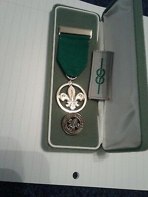 boy scouts medal of merit plus with thanks and cloth badge