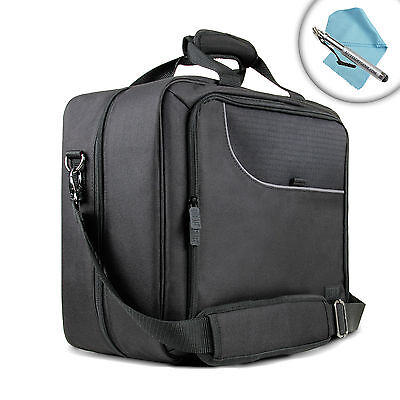 Toughbook Travel Case w/Carrying Strap , Scratch-Resistant Lining & Compartments