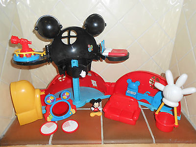 Disney MICKEY MOUSE Clubhouse Playset and Accessories
