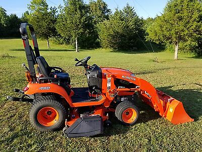"2011 Kubota BX2360 Sub Compact Tractor Loader Belly Mower 4X4 54"" Deck Diesel!"