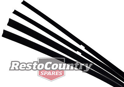Ford Door Weather Belt FRONT + REAR INNER Kit Sedan/Wag  XD XE ZJ ZK FC FD strip