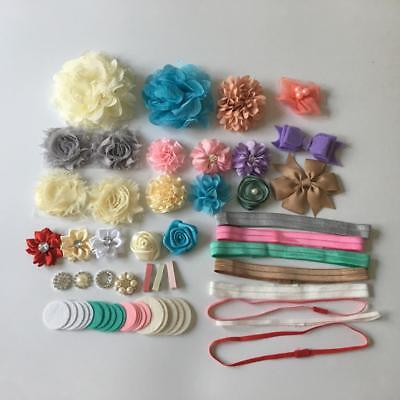 Baby Shower Headband Stations DIY Baby Girl Headband Making Kits