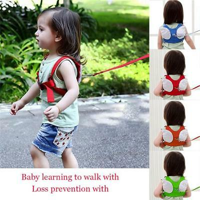 Baby Kid Toddler Walking Safety Harness Strap Anti-lost Leash Cartoon Backpack S