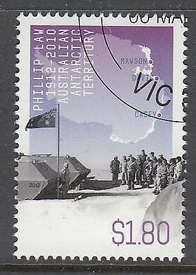 AAT 2012 Philip Law $1.80 Canceled to order sheet stamp