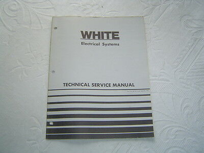 white tractor electrical wiring diagrams system technical service manual