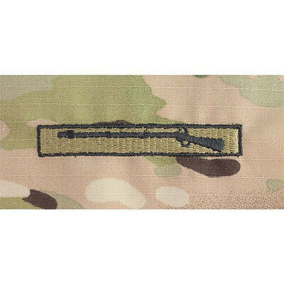 US ARMY EMBROIDERED BADGE ON MULTI CAM/OCP SEW ON:Expert Infantry