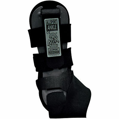 Allsport 147 MX-2 Ankle Brace Right Black One Size Fits Most Adult 2705-0018