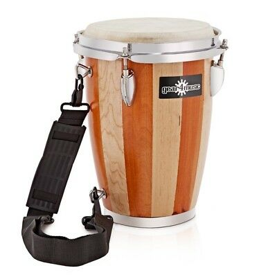 7.5'' Wooden Conga with Strap