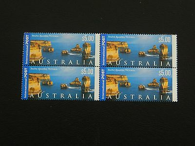 Australia Stamps SG 1988 issued 2000 condition MNH  block of 4 value $5.00 x 4.
