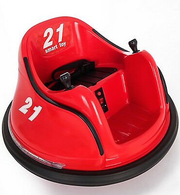 12V Children's Waltzer Car Battery Operated Electric Ride On Toy - Red