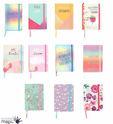 Notebook Note Book Pad Jotter Lined Paper Journal Diary Sketch Gift Hardback